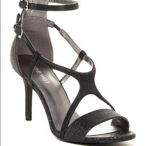 Holiday sparkle heels